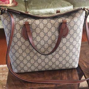 Gucci crossbody bag.